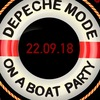 Depeche Mode On A Boat Party