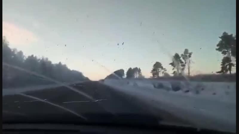 Момент смертельного ДТП на Сернурском тракте попал на видео