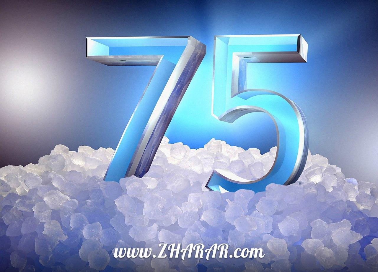 Қазақша Құттықтау - тілек: Туған күн (Жетпіс бес 75 жас)
