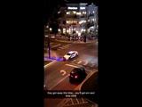 Cop pulls over jaywalkers, town goes wild