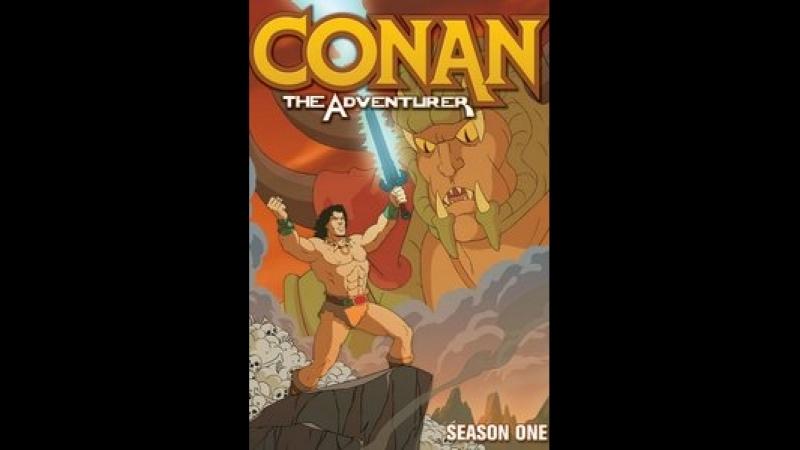 Конан Искатель приключений Conan The Adventurer сезон 1 серия 5-6
