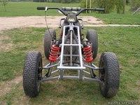 Подборка самодельных квадрациклов, построенных из мотоциклов, а также с (фотографии, чертежи и схемы...