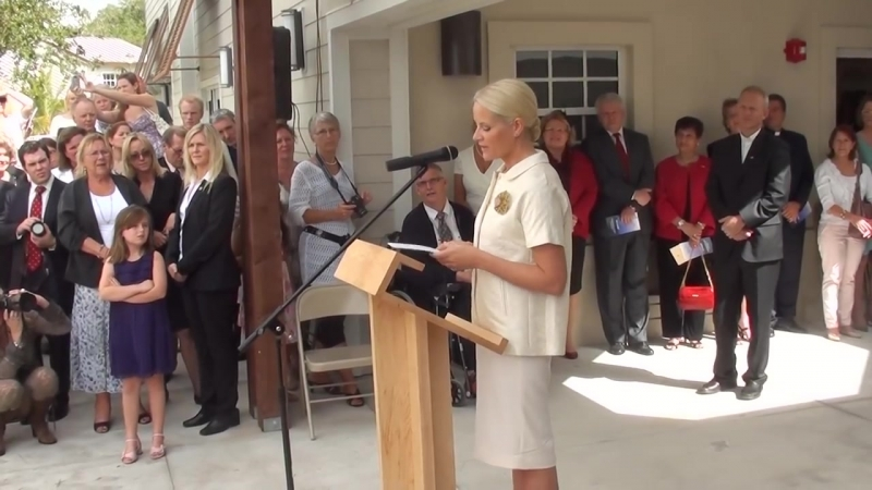 Crown Princess Mette Marit' speech at the official opening of Seamen's Church in USA