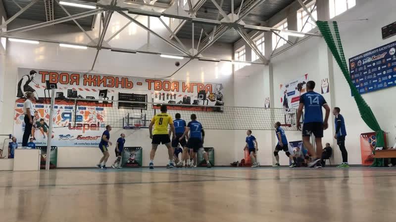 2018-12-08 турнир по волейболу в Гурьевске