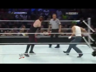 WM  Kane vs Dean Ambrose - Smackdown