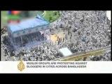Bangladesh protesters demand blasphemy law || April 6,2013: AlJazeera News ||