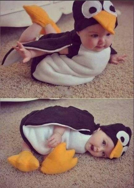 Забавный костюмчик для малыша