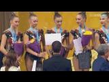 Церемония награждения - 3 мяча + 2 скакалки (финал) // Чемпионат Мира 2018
