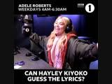 Хейли на BBC Radio 1