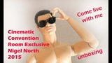 Integrity Toys Cinematic Convention Room Exclusive Nigel North dressed doll unboxing