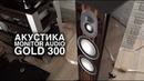 Акустика Monitor Audio Gold 300: твитер-гармошка, авиакерамика и место для котика