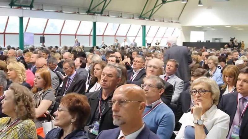Форум ОНФ За качественную и доступную медицину.Работа выставки и площадок