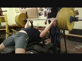 147 кг, наш чемпион 16 лет