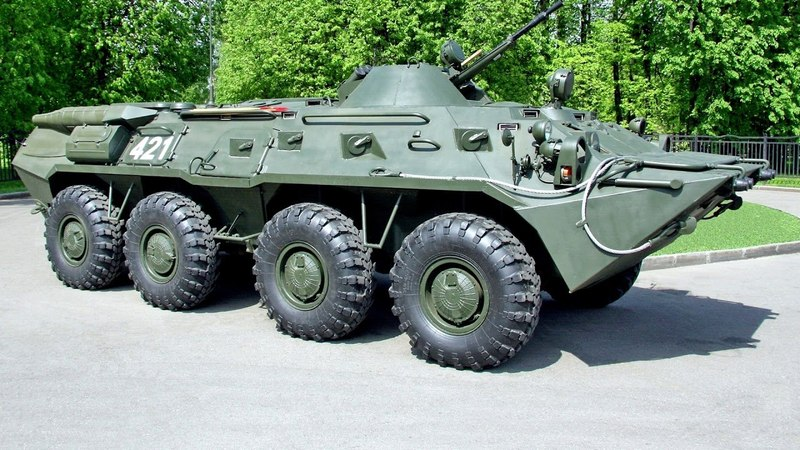 ГАЗ 5903 БТР 80 1984