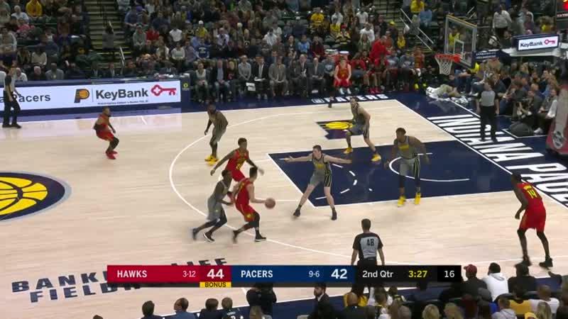 NBA. Hawks - Pacers. 17.11.18