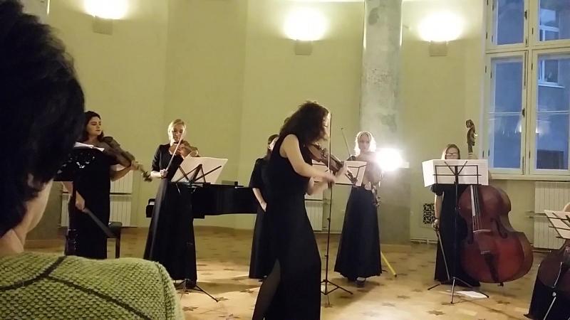А Вивальди Времена года Лето Солистка Елена Кочеватова смотреть онлайн без регистрации