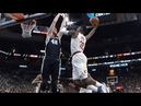 Jeff Green Over Davis Bertans Cavs vs Spurs