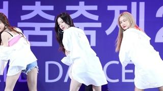 [4K] 180912 이엑스아이디 EXID 덜덜덜 DDD 솔지 SOLJI @ 천안흥타령축제 By Sleeppage