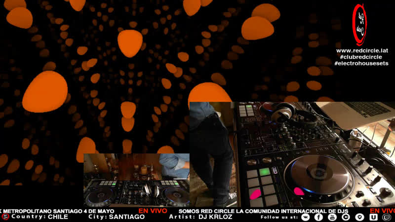 RED CIRCLE - LIVE SESSION / www.redcircle.lat / clubredcircle / LiveDJs Music Dj