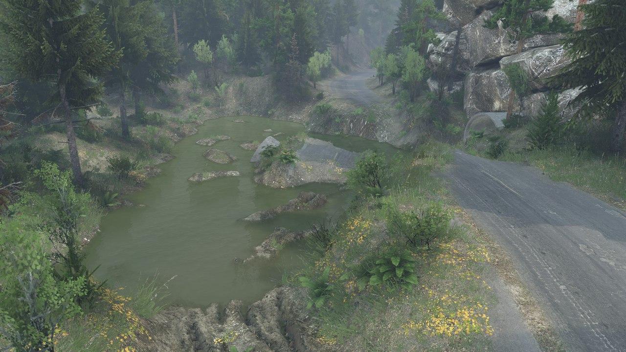 """Карта """"Blackwater Mojave green"""" для последней версии игры. для Spintires - Скриншот 3"""