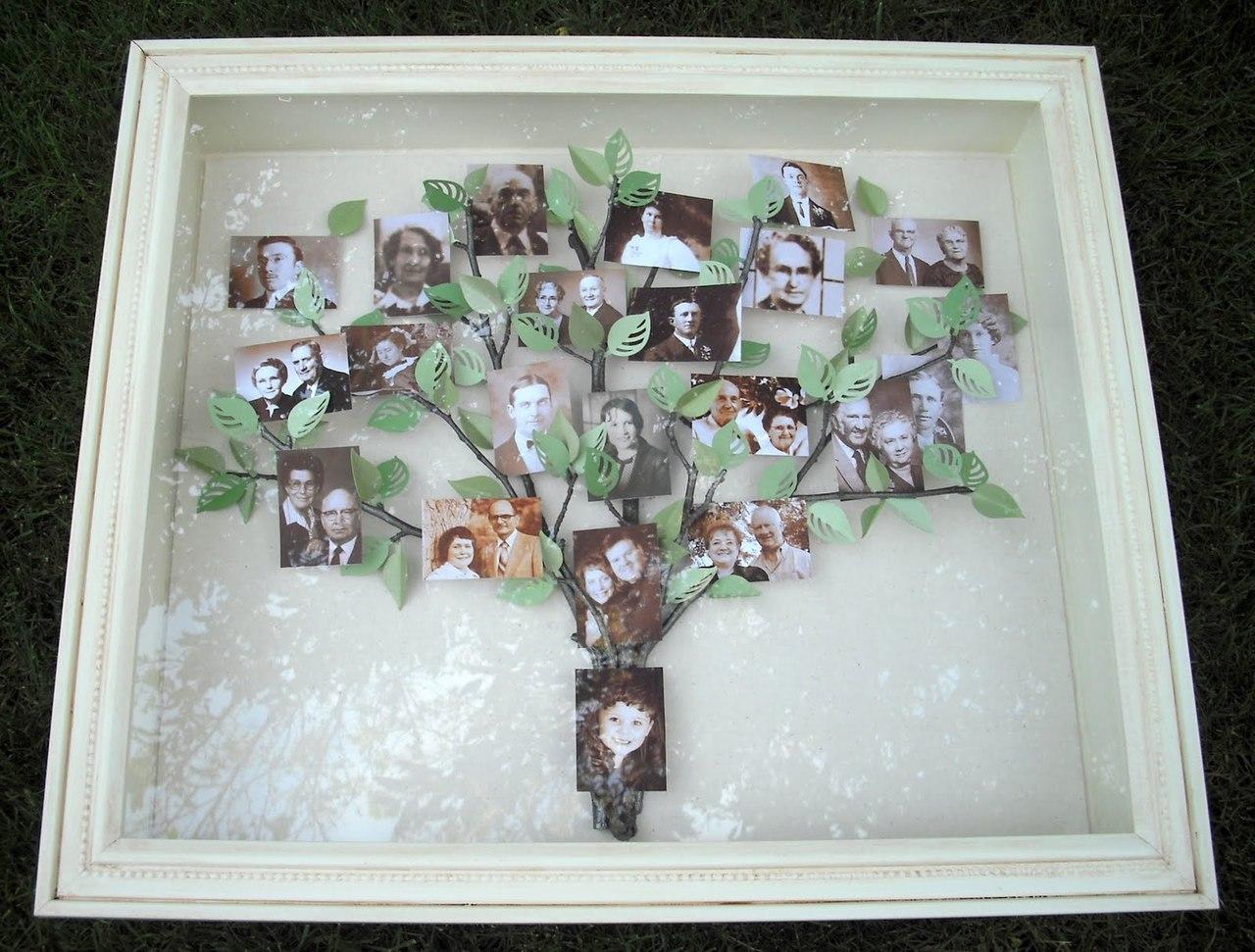 Генеалогическое дерево своими руками из дерева фото