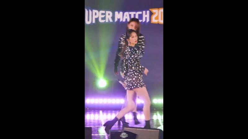 [4K] 180408 씨엘씨 유진 직캠 (CLC YooJin) -블랙 드레스(BLACK DRESS) (Fancam) By.JJaGa !한국 태국 문화교류 콘서트