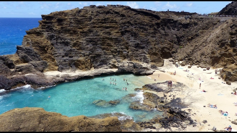 HALONA BEACH COVE - HONOLULU - OAHU - HAWAII