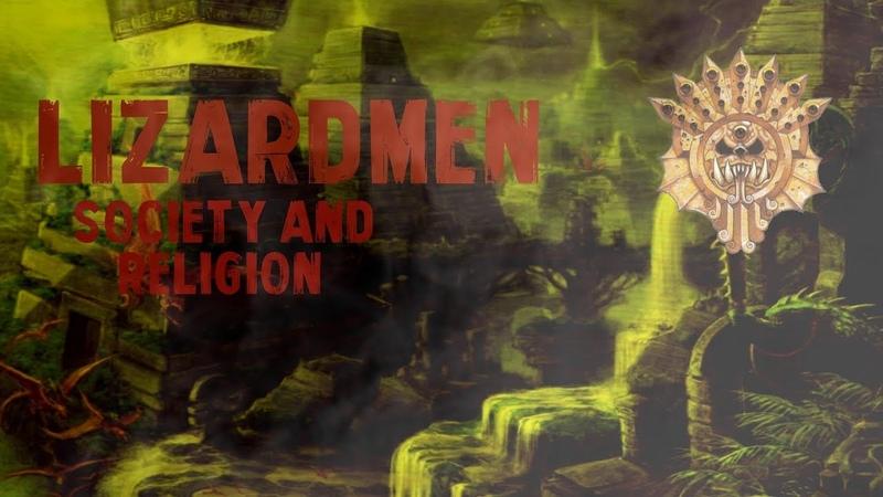 Total War Warhammer Lizardmen Lore Society and Religion