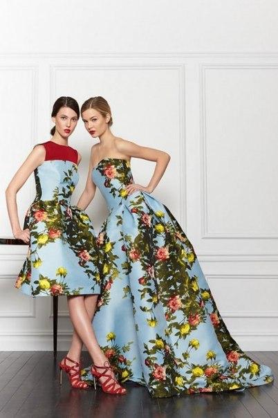 Коллекция изысканной одежды Carolina Herrera (Каролина Эррера)