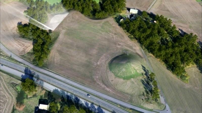 Георадар обнаружил погребальную ладью викингов в Норвегии