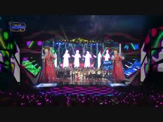 181228 Kim Yeon Ja + BTS + All Casts - Amor Fati @ 2018 KBS Song Festival