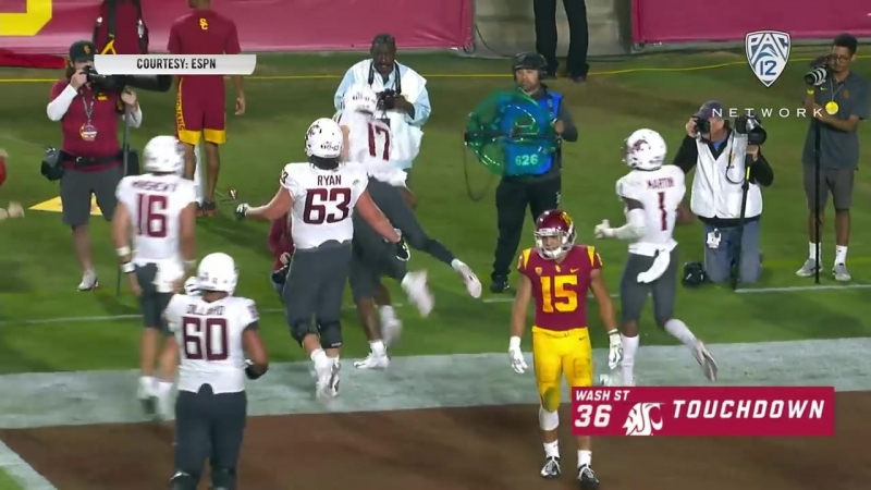 Highlights JT Daniels USC football outlast Gardner Minshew Washington State i