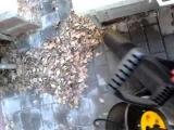 Всё об уборке участка садовым пылесосом за 1 минуту