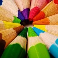 цветные рисунки картинки
