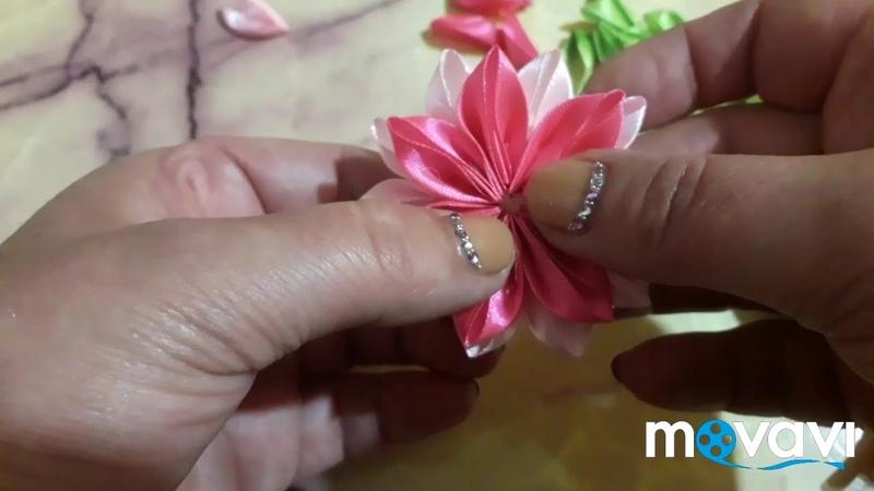 Канзаши цветок сидаре