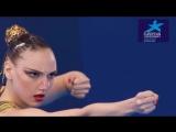 Svetlana Kolesnichenko Solo Free Final Glasgow 2018