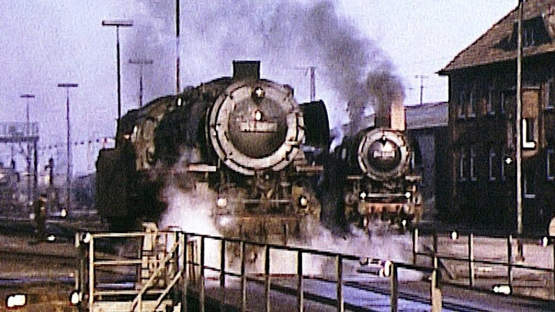Rheine 1972 - Europas größtes Dampflok-Depot: 012, 042, 043 , 044