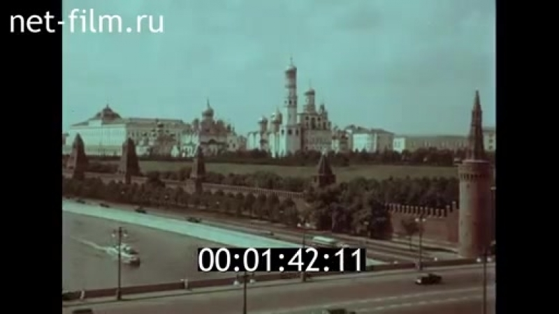 Путешествие по Волге 1958 год Док фильм Куйбышевской Самарской студии кинохроники