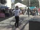 туркменские парни танцуют лезгинку в День Гомеля