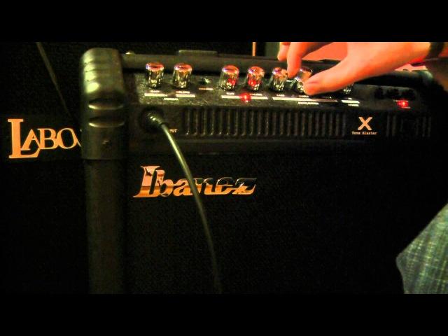 Ibanez Tone Blaster TBX 30 R cz 2 Test Review
