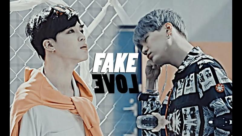 Yoonmin; fake love