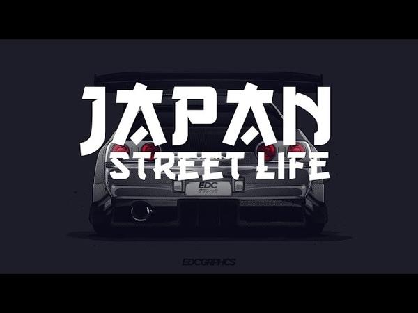 Street drift! Japan. Дрифт по японии! Валящий Mark 2 (II)