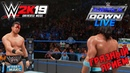 WWE 2K19 Universe Mode - SmackDown Live. A.J. Styles vs The Miz Русская озвучка 4