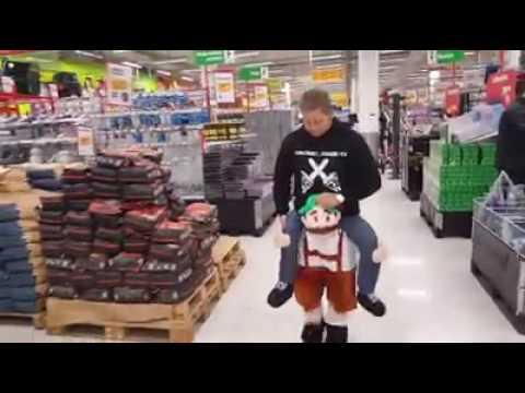 Dwarf costume prank