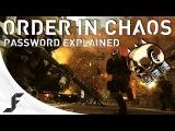 Order in Chaos - Phantom Initiate Password Explained + SWAG winner!