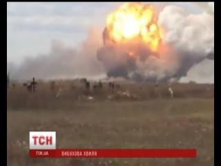 Бойовики і українські військові звинувачують один одного у вибуху в Донецьку