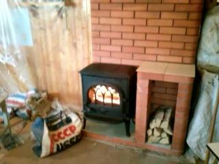 Чугунная печь с тепловым щитком Волоколамск pechnik-wolokolamsk.ru Печник Волоколамск