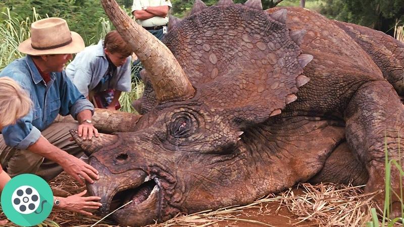 Отравленный Трицератопс. Парк Юрского периода (1993) год.