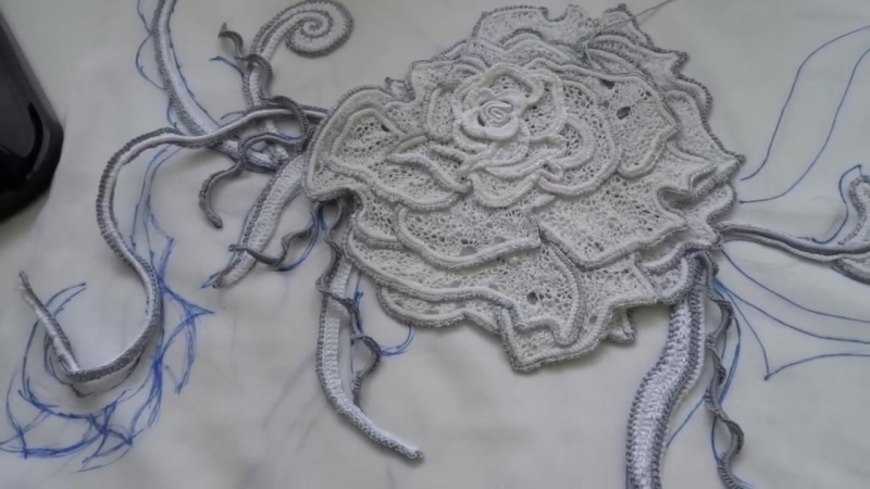 Мини композиция с розой
