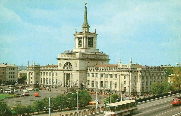 Автор фото: Андрей Арсеньев Комментарий к фотографии: Вокзал города Волгоград.